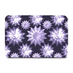 Stars Patterns Christmas Background Seamless Plate Mats