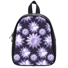 Stars Patterns Christmas Background Seamless School Bags (small)  by Nexatart