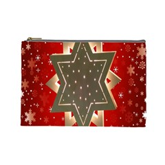 Star Wood Star Illuminated Cosmetic Bag (large)  by Nexatart