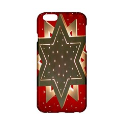 Star Wood Star Illuminated Apple Iphone 6/6s Hardshell Case by Nexatart