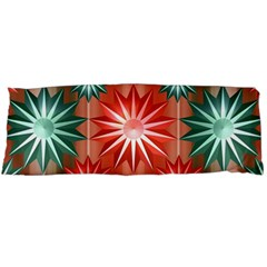 Stars Patterns Christmas Background Seamless Body Pillow Case (dakimakura)