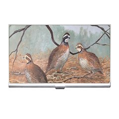 Bob White Quail Business Card Holders by theunrulyartist