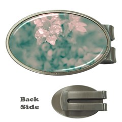 Surreal Floral Money Clips (oval)  by dflcprints