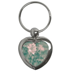 Surreal Floral Key Chains (heart)  by dflcprints