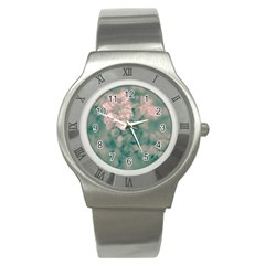 Surreal Floral Stainless Steel Watch by dflcprints
