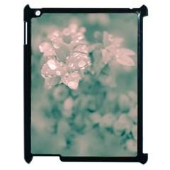Surreal Floral Apple Ipad 2 Case (black) by dflcprints