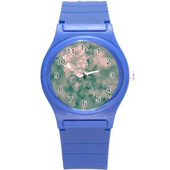 Surreal Floral Round Plastic Sport Watch (s) by dflcprints