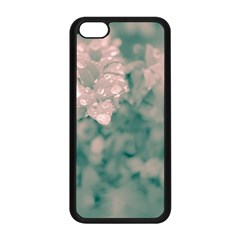 Surreal Floral Apple Iphone 5c Seamless Case (black) by dflcprints