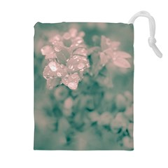 Surreal Floral Drawstring Pouches (extra Large) by dflcprints