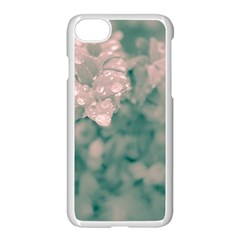 Surreal Floral Apple Iphone 7 Seamless Case (white) by dflcprints