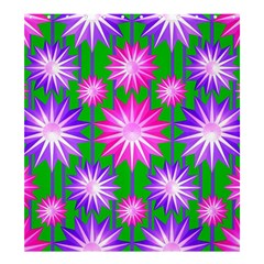 Stars Patterns Christmas Background Seamless Shower Curtain 66  X 72  (large)