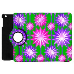 Stars Patterns Christmas Background Seamless Apple Ipad Mini Flip 360 Case
