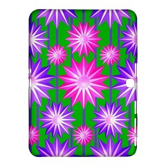 Stars Patterns Christmas Background Seamless Samsung Galaxy Tab 4 (10 1 ) Hardshell Case  by Nexatart