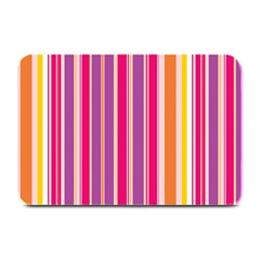 Stripes Colorful Background Pattern Plate Mats
