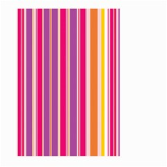 Stripes Colorful Background Pattern Large Garden Flag (two Sides)