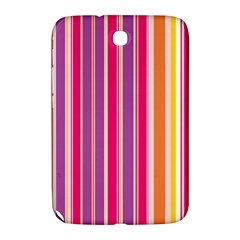 Stripes Colorful Background Pattern Samsung Galaxy Note 8 0 N5100 Hardshell Case