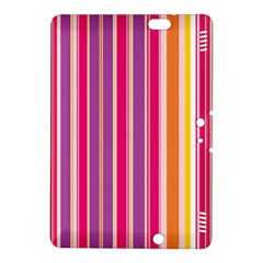 Stripes Colorful Background Pattern Kindle Fire Hdx 8 9  Hardshell Case by Nexatart