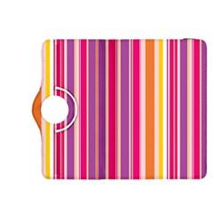 Stripes Colorful Background Pattern Kindle Fire Hdx 8 9  Flip 360 Case