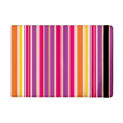 Stripes Colorful Background Pattern Ipad Mini 2 Flip Cases