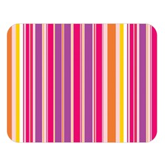 Stripes Colorful Background Pattern Double Sided Flano Blanket (large)