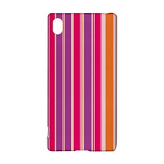Stripes Colorful Background Pattern Sony Xperia Z3+ by Nexatart