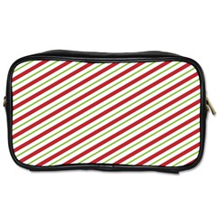 Stripes Striped Design Pattern Toiletries Bags 2 Side