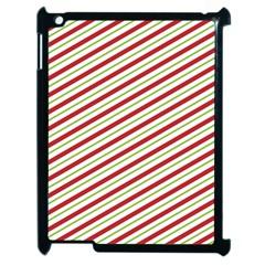 Stripes Striped Design Pattern Apple Ipad 2 Case (black) by Nexatart
