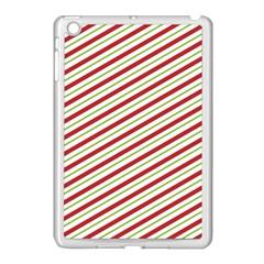 Stripes Striped Design Pattern Apple Ipad Mini Case (white)