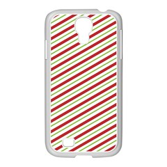 Stripes Striped Design Pattern Samsung Galaxy S4 I9500/ I9505 Case (white)