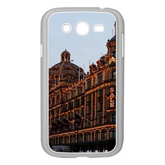 Store Harrods London Samsung Galaxy Grand DUOS I9082 Case (White) by Nexatart