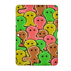 Sweet Dessert Food Gingerbread Men Samsung Galaxy Tab 2 (10 1 ) P5100 Hardshell Case