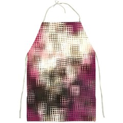 Stylized Rose Pattern Paper, Cream And Black Full Print Aprons by Nexatart