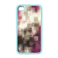 Stylized Rose Pattern Paper, Cream And Black Apple Iphone 4 Case (color)