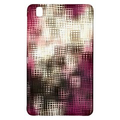 Stylized Rose Pattern Paper, Cream And Black Samsung Galaxy Tab Pro 8 4 Hardshell Case