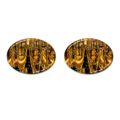 Sylvester New Year S Eve Cufflinks (oval)