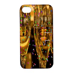 Sylvester New Year S Eve Apple iPhone 4/4S Hardshell Case with Stand by Nexatart