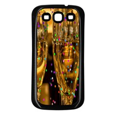 Sylvester New Year S Eve Samsung Galaxy S3 Back Case (black)