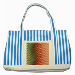 Texture Digital Painting Digital Art Striped Blue Tote Bag