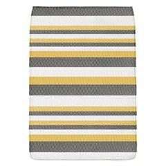 Textile Design Knit Tan White Flap Covers (s)