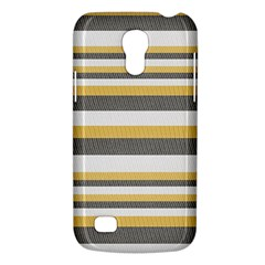 Textile Design Knit Tan White Galaxy S4 Mini