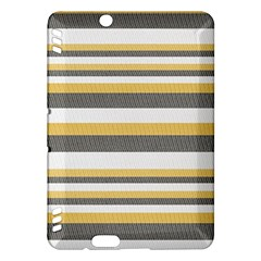 Textile Design Knit Tan White Kindle Fire Hdx Hardshell Case