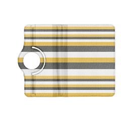 Textile Design Knit Tan White Kindle Fire Hd (2013) Flip 360 Case by Nexatart