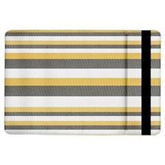 Textile Design Knit Tan White Ipad Air Flip