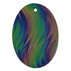 Texture Abstract Background Ornament (oval) by Nexatart