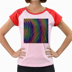 Texture Abstract Background Women s Cap Sleeve T Shirt by Nexatart