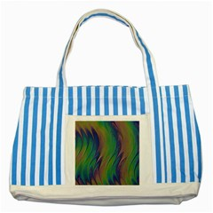 Texture Abstract Background Striped Blue Tote Bag