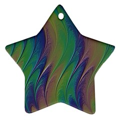 Texture Abstract Background Star Ornament (two Sides) by Nexatart