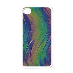 Texture Abstract Background Apple Iphone 4 Case (white)
