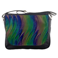 Texture Abstract Background Messenger Bags