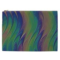 Texture Abstract Background Cosmetic Bag (xxl)  by Nexatart